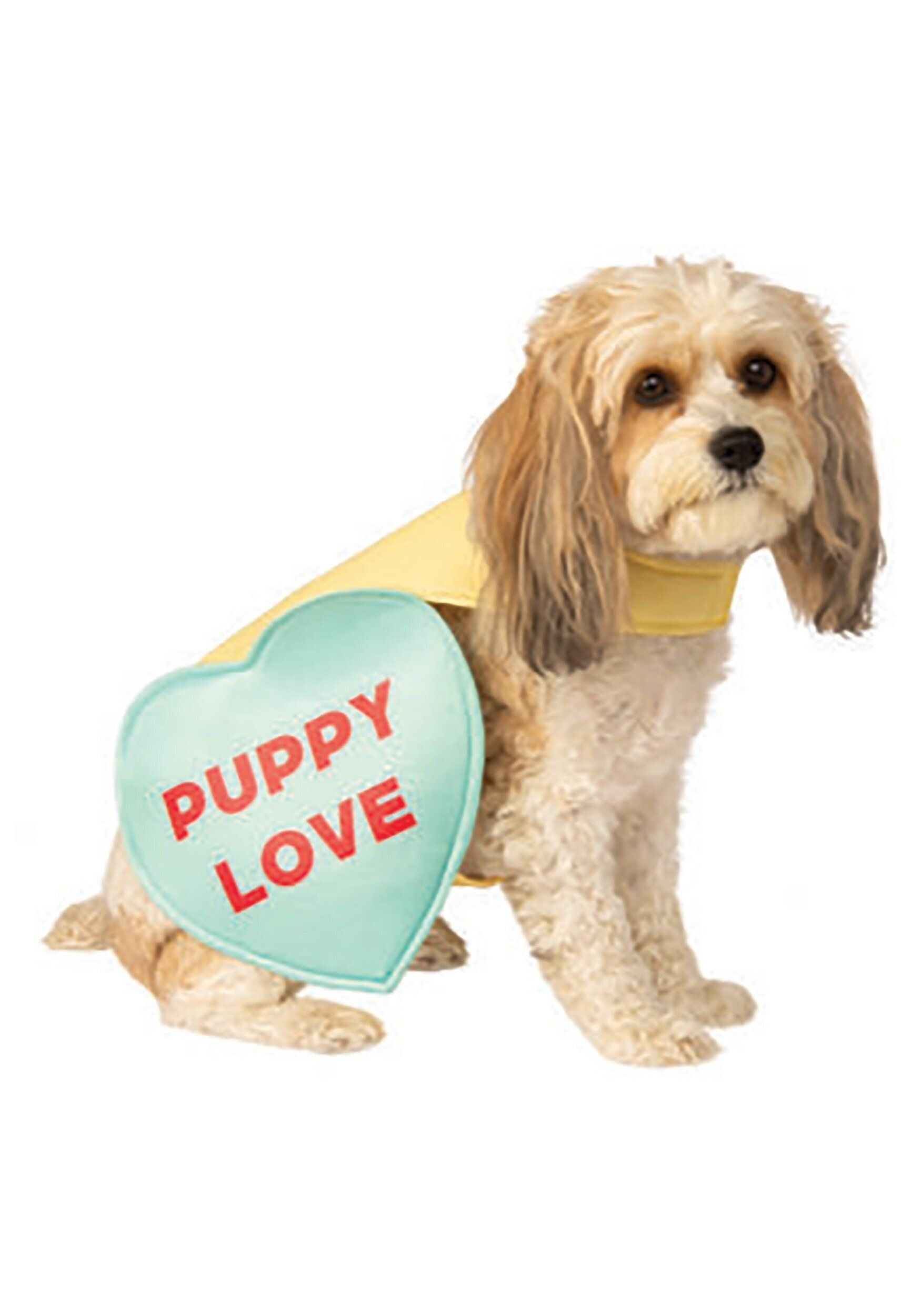 "If your valentine is obsessed with their fur baby, <a href=""https://www.halloweencostumes.com/valentine-candy-sweet-heart-dog"