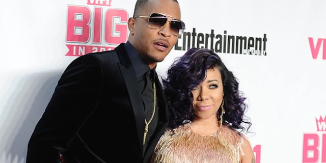 Rapper T.I. and Tameka 'Tiny' Cottle-Harris attend the VH1 Big In 2015 with Entertainment Weekly Awards at Pacific Design Center on November 15, 2015, in West Hollywood, Calif.This week the pair denied sexual abuse allegations that were made by their alleged former friend, Sabrina Peterson.