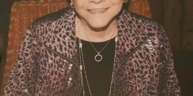 90-year-old Betty Anne before she began receiving home care.