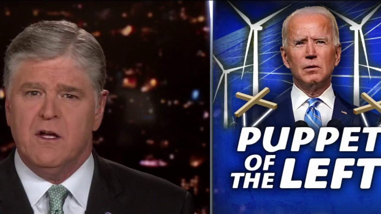 Hannity: 'Struggling' Biden wrecking US as far left tightens grip on presidency