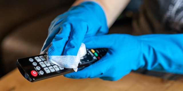 Light switches and remote controls are two highly overlooked housekeeping areas.