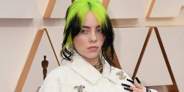 Billie Eilish recalled being kissed on a date before being told the kiss was 'not as magical' as her date was expecting. (Photo by Jeff Kravitz/FilmMagic)