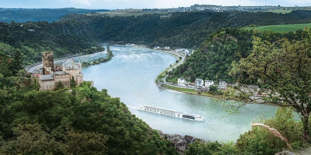 Uniworld Boutique River Cruises will let affluent travelers book an entire ship for a private cruise that can cost hundreds of thousands of dollars.(Uniworld Boutique River Cruises)