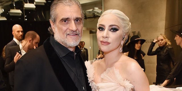 Lady Gaga's father Joe Germanotta (left) told Fox News the singer's 'whole family' is upset as they await answers in the shooting incident that injured her dog walker and resulted in two of her three dogs being stolen.