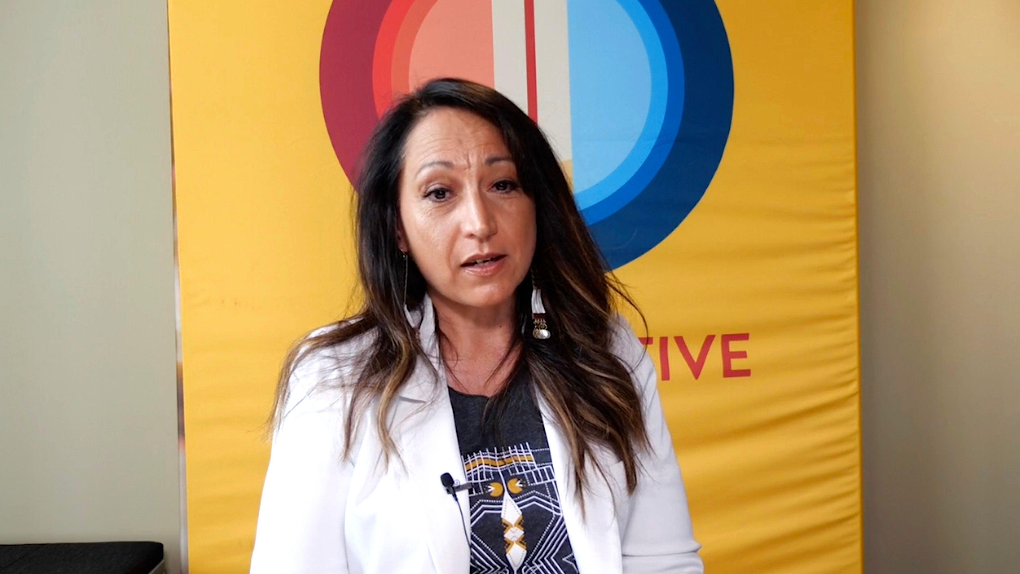 Crystal Echo Hawk, a Native American activist based in Oklahoma, said Republican senators showed their preoccupation with hel