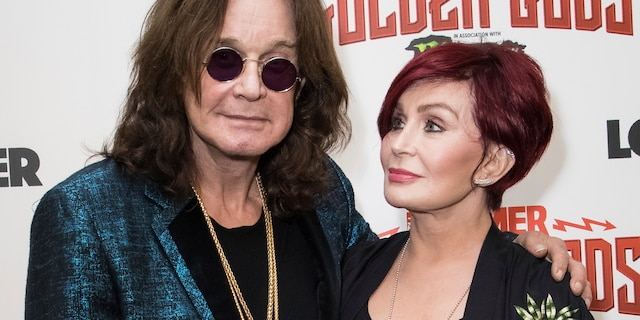 Ozzy Osbourne, left, and his wife Sharon Osbourne at the Metal Hammer Golden God Awards in London. The 72-year-old Grammy winner and former vocalist for the metal band Black Sabbath said during an interview on 'Good Morning America' that aired Tuesday, Jan. 21, 2020, that he's been diagnosed with Parkinson's disease, a nervous system disorder that affects movement.