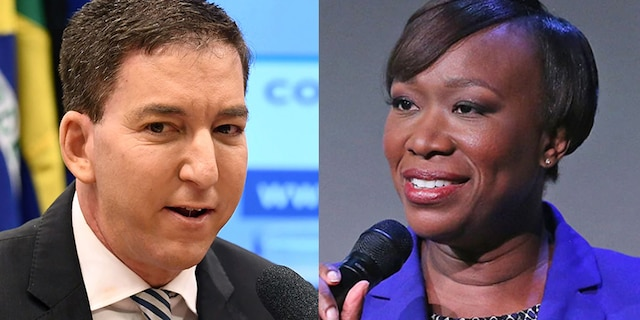 "Journalist Glenn Greenwald blasted far-left MSNBC host Joy Reid on Friday for a ""conspiratorial derangement"" claim that Sen. Ron Johnson, R-Wis., is actually from Russia."