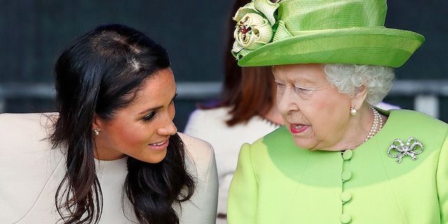 The Duke and Duchess of Sussex spoke favorably about Queen Elizabeth II.
