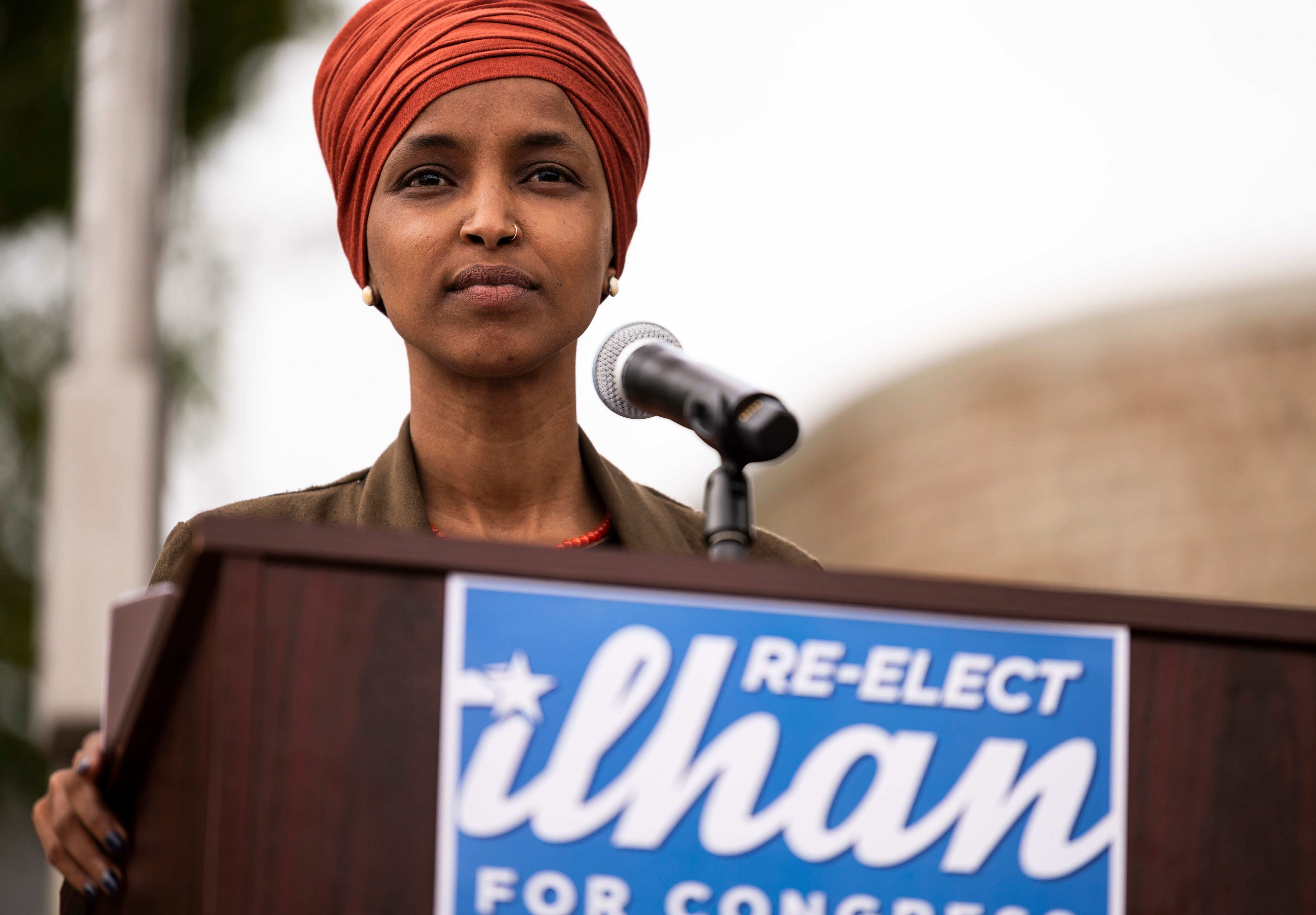 """Rep. Ilhan Omar (D-Minn.), pictured, said it's """"heartbreaking"""" to see what has become of the institution sh"""
