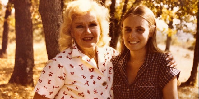 Ginger Rogers and her personal assistant/pal Roberta Olden.