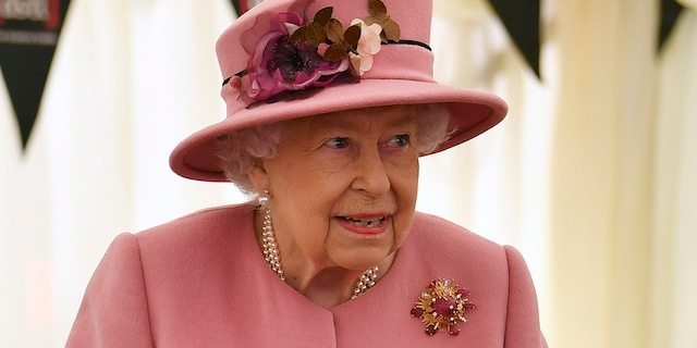 Queen Elizabeth II attends an event near Salisbury, England in this October 2020 photo.