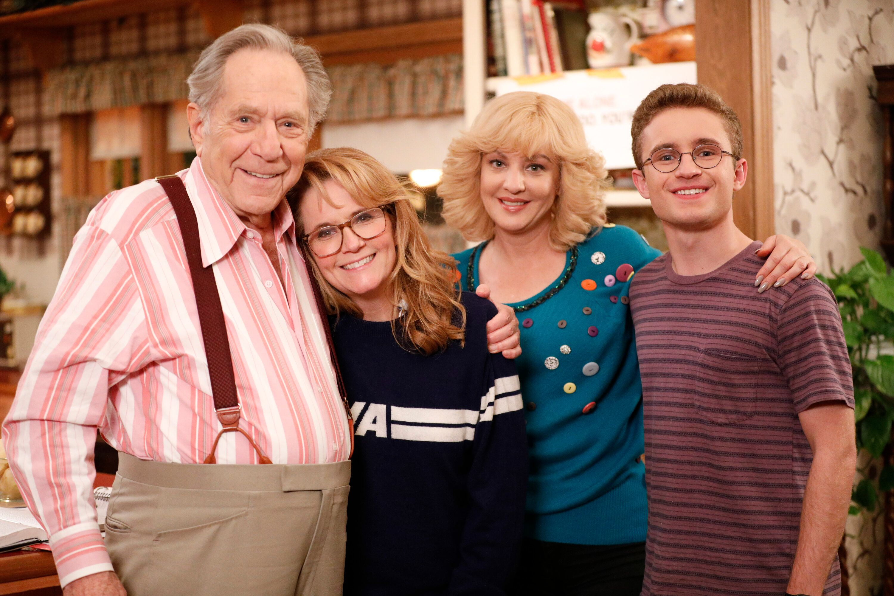 """Since 2013, George Segal has played the grandfather Albert """"Pops"""" Solomon on the """"The Goldbergs."""""""