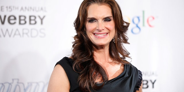 Brooke Shields had to undergo three surgeries after breaking her right femur in a gym accident.