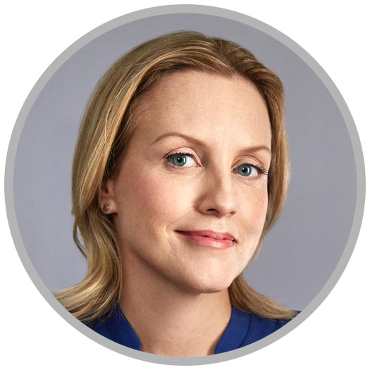 Rachel Thomas, co-founder and CEO of LeanIn.org