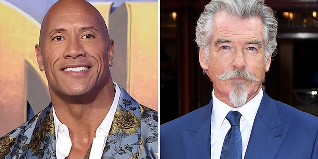 Pierce Brosnan will play Dr. Fate in DC Comics' 'Black Adam.' The film also stars Dwayne Johnson, who will also produce the movie.
