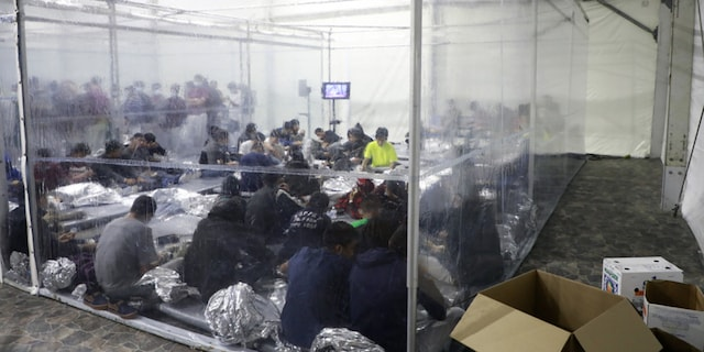 Temporary processing facilities in Donna, Texas, safely processes family units and unaccompanied alien children (UACs) encountered and in the custody of the U.S. Border Patrol.
