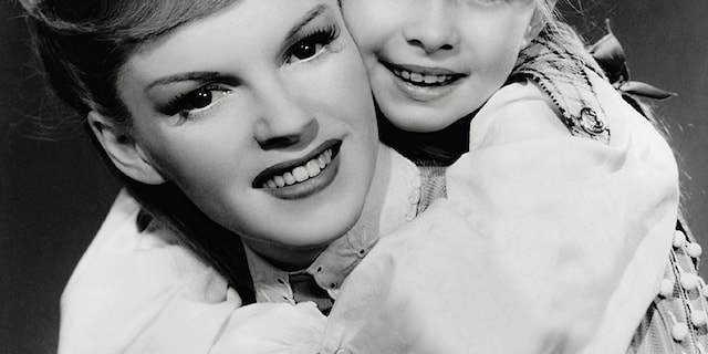 Margaret O'Brien (right) said she still keeps in touch with Judy Garland's children.