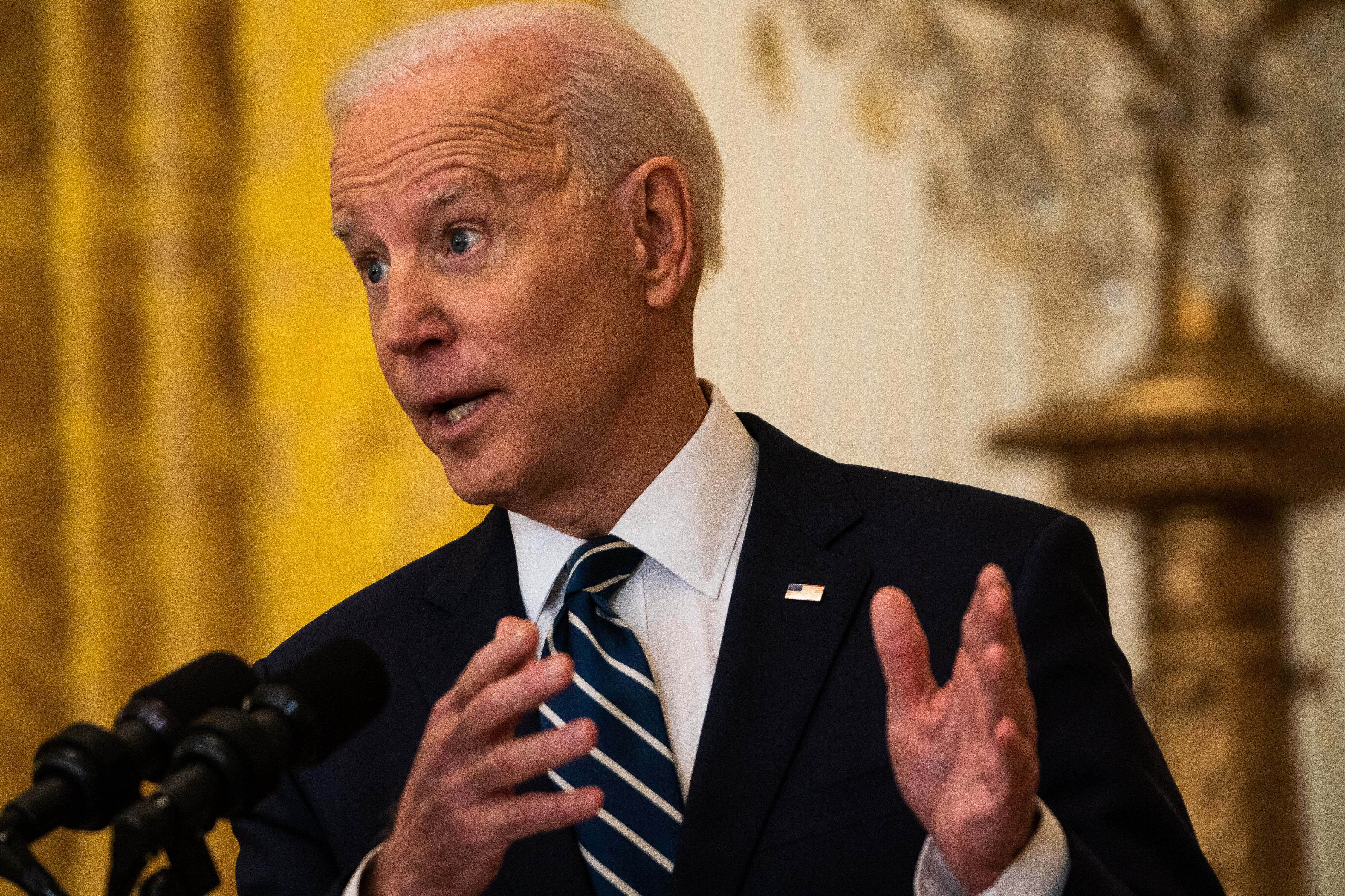 Democrats are uniformly lining up behind the most essential parts of President Joe Biden's policy program.