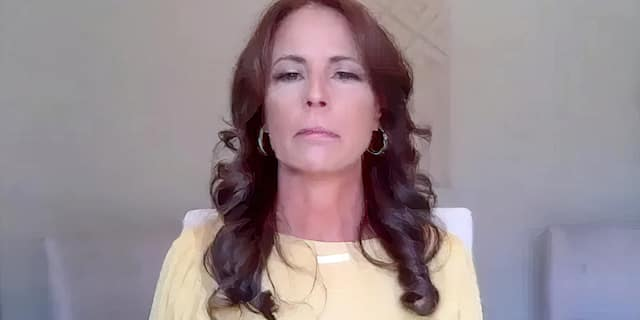 Sherry Vill (pictured) appeared in a virtual news conference with her attorney Gloria Allred on Monday, March 29. Vill accuses Gov. Cuomo of grabbing her face and kissing her in front of her home in 2017.