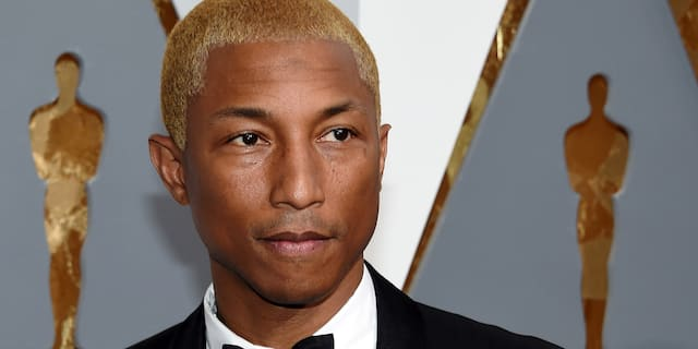 Pharrell Williams said that he is a cousin of Donovon W. Lynch, one of the two people that died during a series of shootings in Virginia Beach on Friday. (Photo by Ethan Miller/Getty Images)