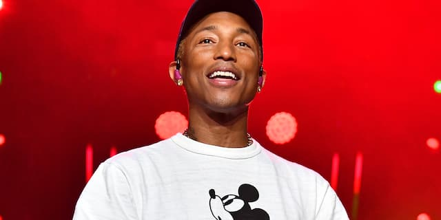 Pharrell Williams. (Photo by Paras Griffin/Getty Images,)