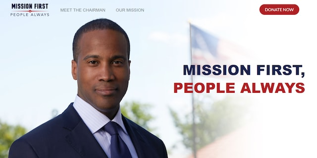 "John James, the West Point graduate, Iraq War veteran, businessman and Senate nominee in Michigan launched ""Mission First, People Always"" PAC"