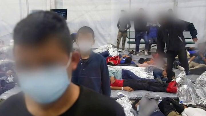 US border facilities overwhelmed amid migrant surge