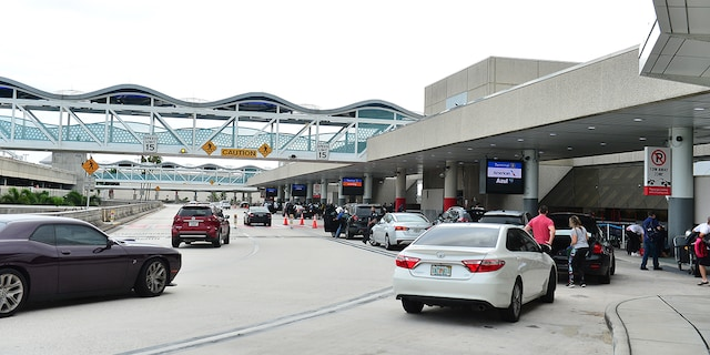 Roadways leading to Fort Lauderdale-Hollywood International Airport reopened Thursday after delays. (Photo by JL/Sipa USA)