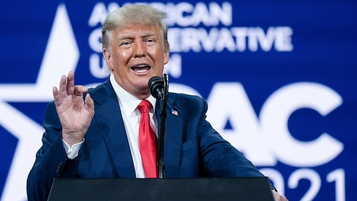 Trump says he's considering running again in 2024