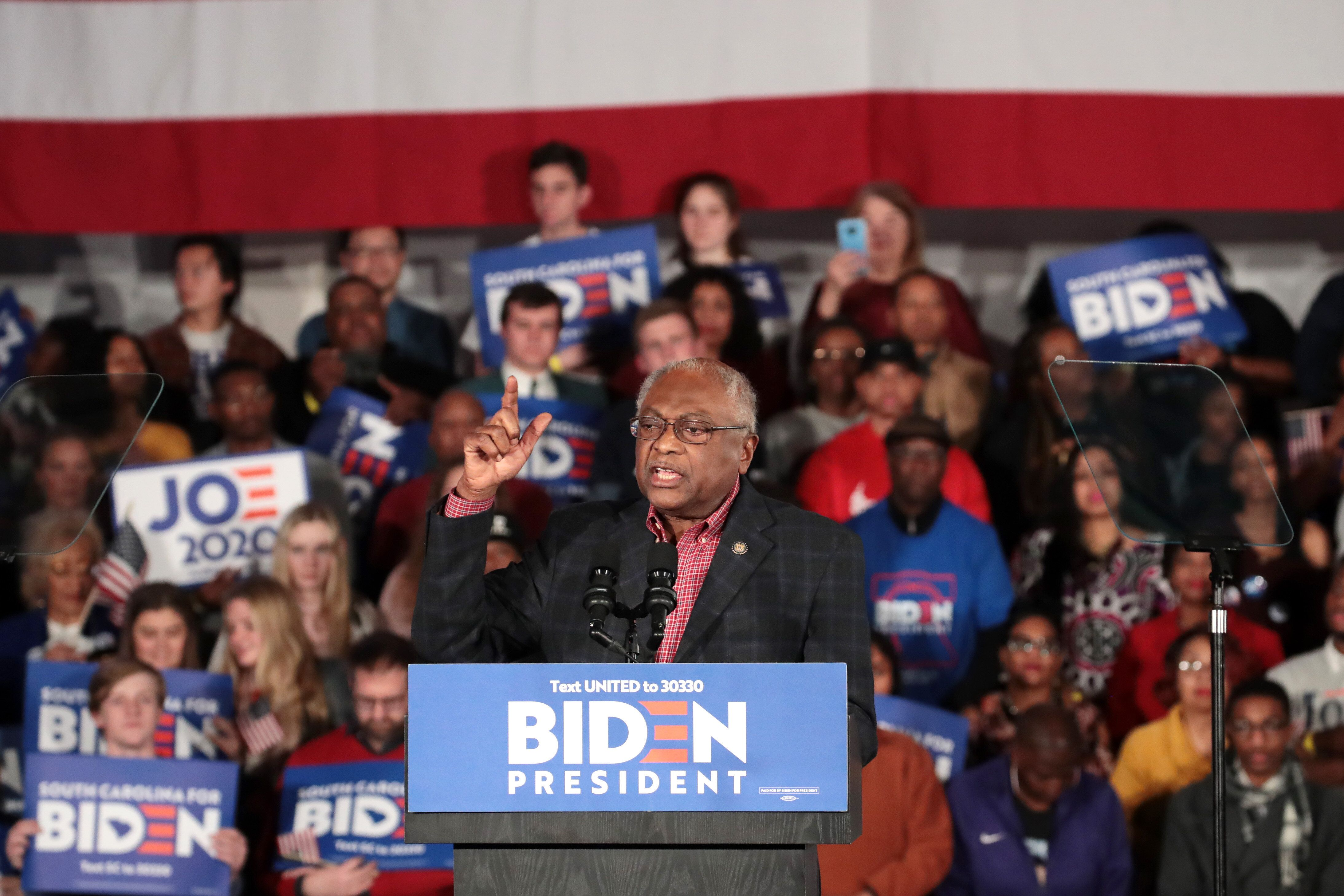 Rep. Jim Clyburn (D-S.C.) endorsed President Joe Biden ahead of the South Carolina primary. He now wants Biden to uphold his