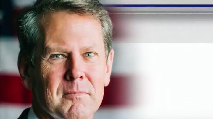 Kemp claims Biden pushing false narrative about Georgia election law