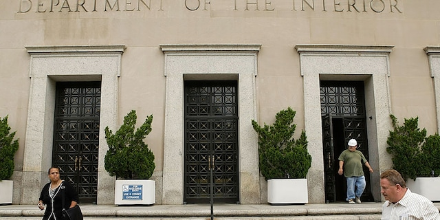 An exterior view of the U.S. Department of the Interior is seen on Sept. 11, 2008, in Washington, D.C.  (Getty Images)