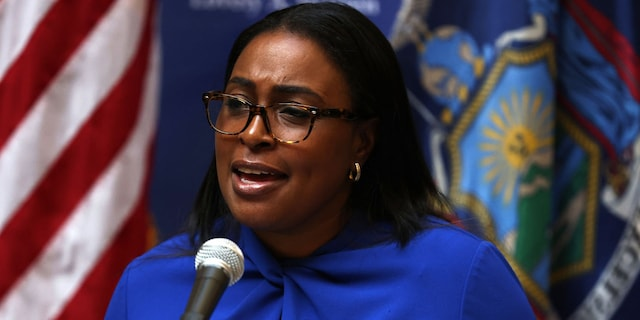 Lovely A. Warren, mayor of Rochester, during a news conference on Sept. 3, 2020.