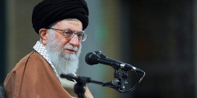Iran's supreme leader, Ayatollah Ali Khamenei.