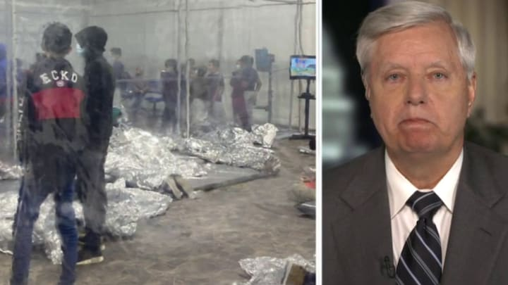 Graham blasts 'national security disaster' at southern border