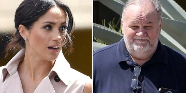 Former Hollywood lighting director Thomas Markle (right) has spoken out on numerous occasions to U.K. tabloids about his famous daughter.