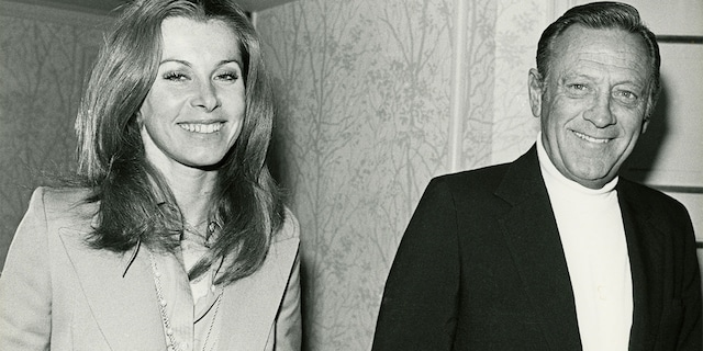 Oscar-winning actor William Holden (pictured here with Stefanie Powers) passed away in 1981 at age 63.