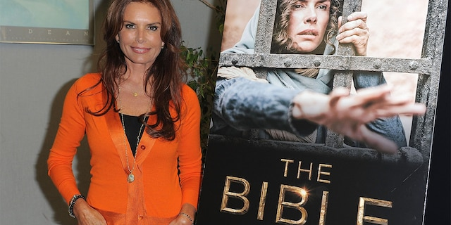 Executive Producers Roma Downey attends a special event for History's 'The Bible' at Harmony Gold Theatre on June 12, 2013, in Los Angeles, California.