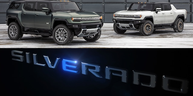 The electric Chevrolet Silverado (not shown) will be built alongside the GMC HUMMER EV lineup.