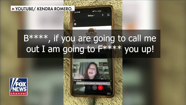 California school board member threatens to 'f--- up' parents