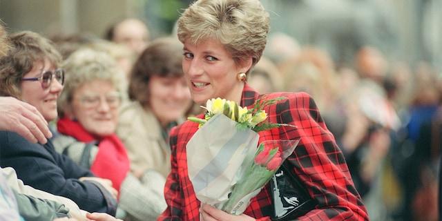 The Princess of Wales, circa 1991.