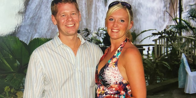Corie Stevenson and ex-husband Ryan Bane, whose girlfriend Sarm Heslop disappeared last month, in an undated photo.