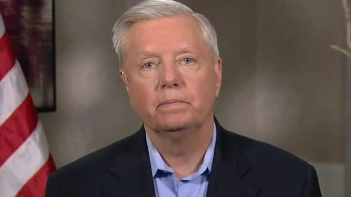 Sen. Lindsey Graham blasts Democratic court-packing push