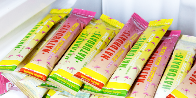 Natural Light, which is owned by Anheuser-Busch, announced a new line of boozy ice pops.