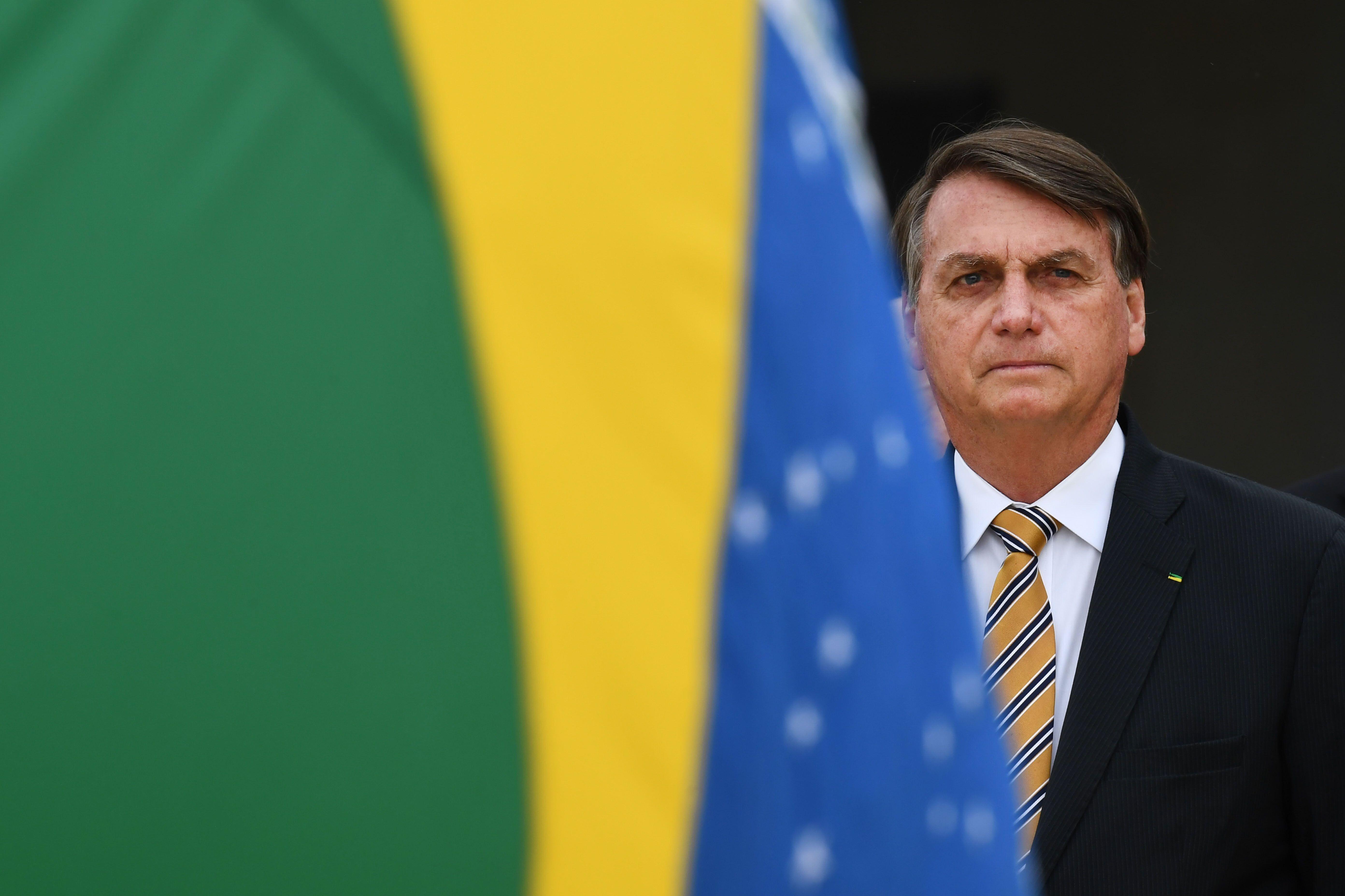 Brazilian President Jair Bolsonaro found refuge from international scorn in former President Donald Trump's climate denial. U