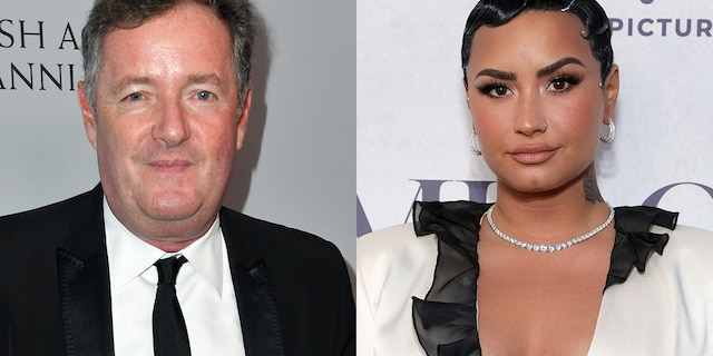 Piers Morgan called Demi Lovato 'dumb' and 'deluded' after she called out his 'favourite' Los Angeles frozen yogurt shop for their abundance of sugar-free offerings.