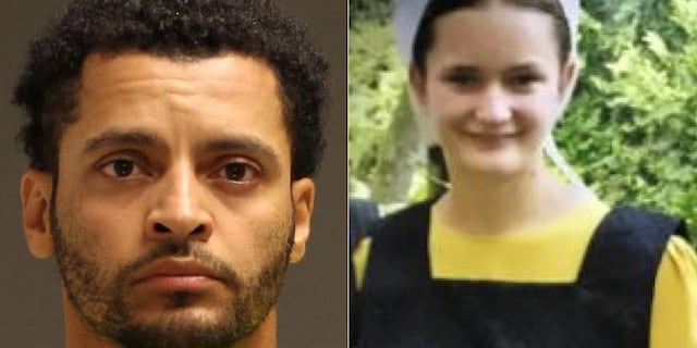 Justo Smoker, 34, has been charged in the disappearance of 18-year-old Linda Stoltzfoos. (Lancaster County District Attorney/East Lampeter Township PD)