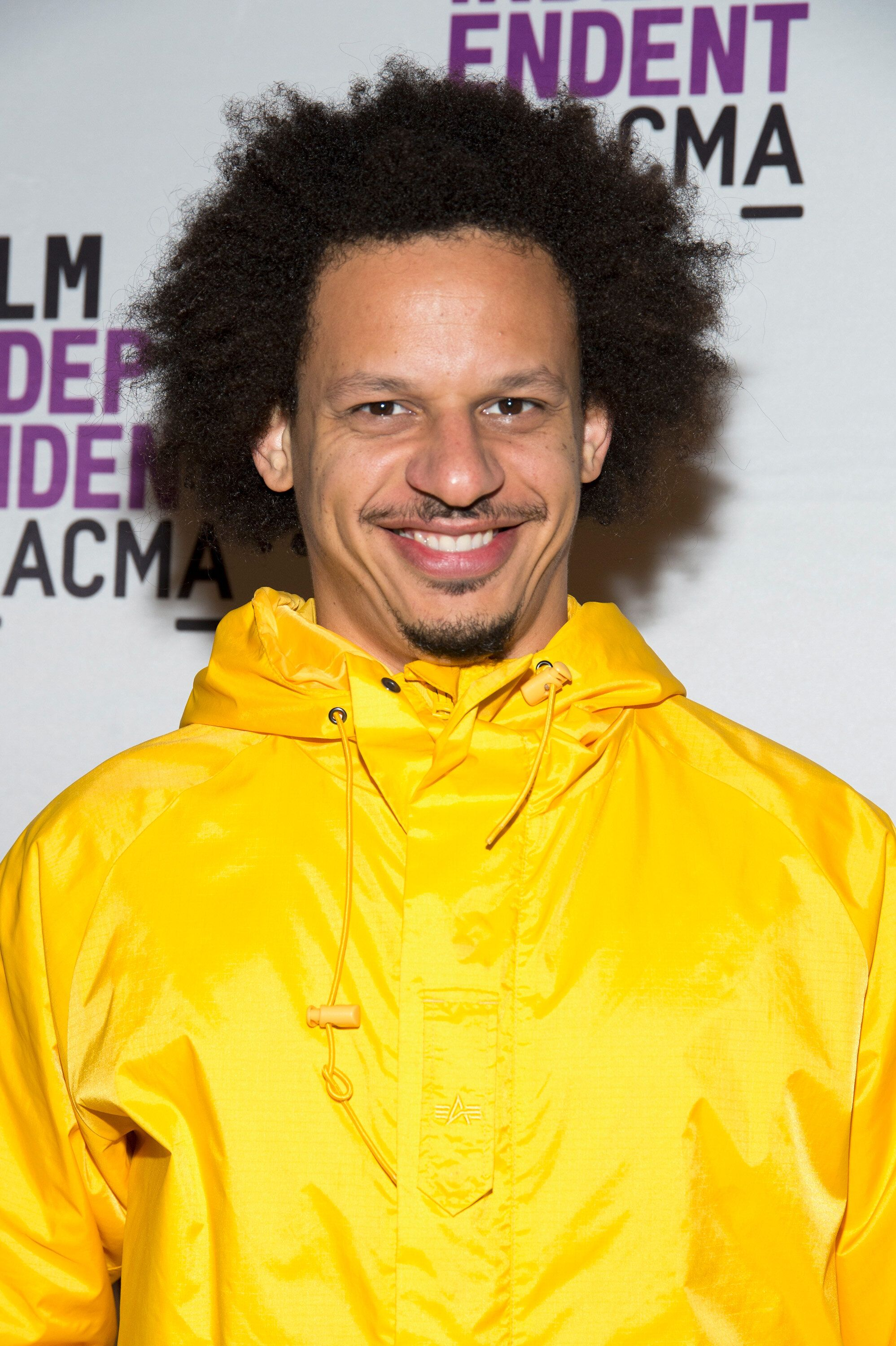 Eric Andre said he was in Atlanta to film his new movie.