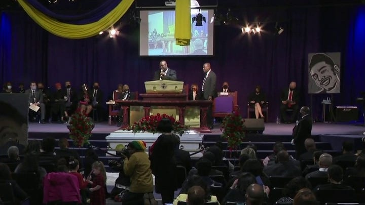 Daunte Wright funeral held in Minneapolis