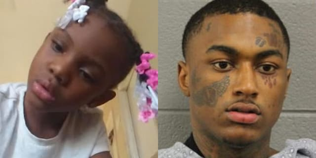 7-year-old Jaslyn Adams was shot and killed ina drive-thru at a McDonald's last Sunday. Marion Lewis, 18, was arrested and charged with murder in connection to the shooting.